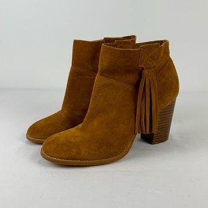 ✨3/$25✨Crown Vintage Raffa Suede Stacked Heel Boot